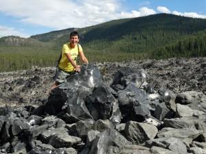 Flinke blokken Obsidian