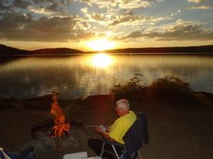 Het Zwitserleven gevoel op de Little Lake campground