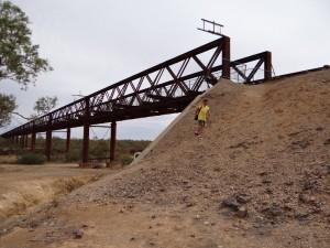 Algebuckina brug van de oude Ghan spoorlijn