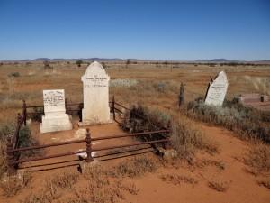 Een pioniers begraafplaats