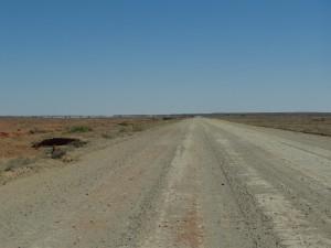 """De """"Outback"""" is begonnen."""